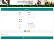 E-learning management solution
